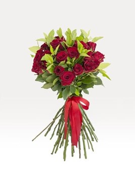 Bouquets: Hand Tied Red