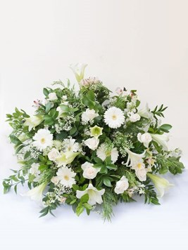 Funeral : Flat Back Church Arrangement Option 4 - AV