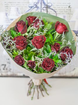 Bouquets: Red Rose Bouquet