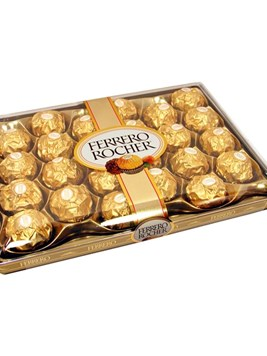 Chocolates and Sweets: Ferrero Rocher Box (24 Balls)