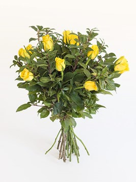 Bouquets: Yellow Rose Bouquet