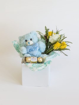 Snack & Gift Hampers: Celebrate a Baby Boy with Mini Ferrero