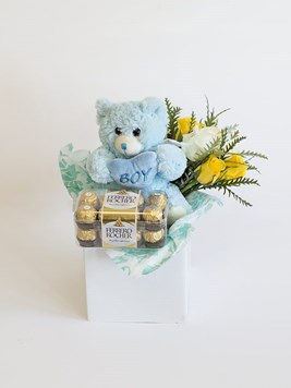 Snack & Gift Hampers: Celebrate a Baby Boy with Ferrero Rocher