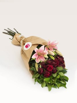 TFG: Arrange Your Own Pink & Red Bouquet