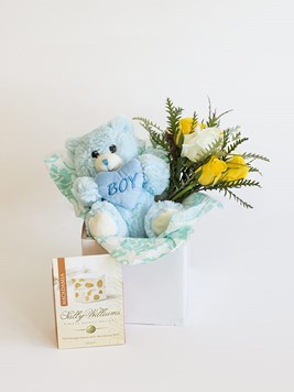 Snack & Gift Hampers: Celebrate a Baby Boy with Sally Williams